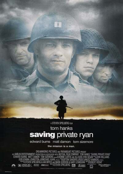 电影《拯救大兵瑞恩》 Saving Private Ryan剧照海报图片